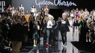 תצוגת האופנה של גדעון וקארן אוברזון