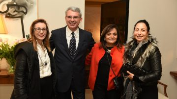 טרנדים, מגמות ואיטליה: השגריר מארח את מובילי התעשייה