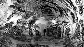 מחוץ למסגרת: כשבלון ענק הופך ליער קסום