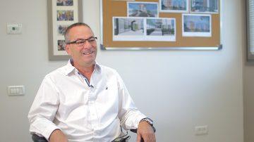 בדרך להתחדשות עירונית: רוני בריק