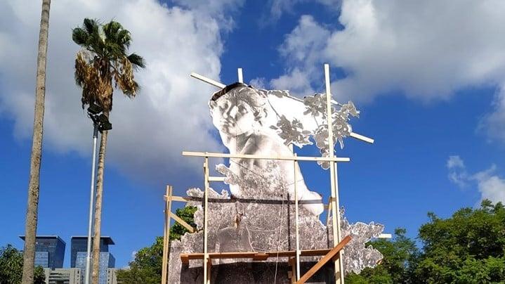 """עד מוצ""""ש: 100 אמנים השתלטו על מרכז קהילתי שיהרס בקרוב"""
