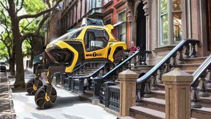 מונית, רכב קונספט