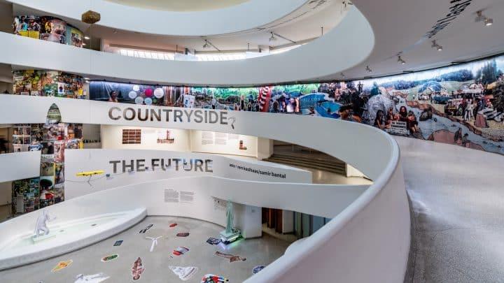 בלי שום קשר לאדריכלות: רם קולהאוס מוביל תערוכה בגוגנהיים