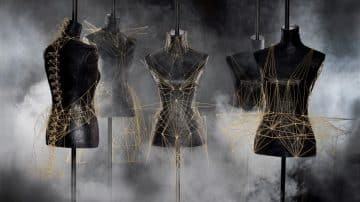 מה גרם למעצבת הפנים הצרפתייה לייצר שמלות מספגטי?