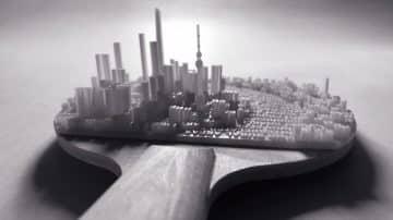 טיפוגרפיה וטופוגרפיה: כך הפכו קטעי הטקסט לערים תלת ממדיות