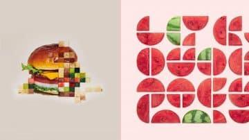 המבורגר מפוקסל, אבטיח פקמן ואמנות יפנית על לחם פרוס