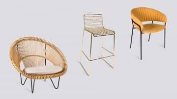 מעשה בארבעה כיסאות: הקלוע, הגבוה, זה שהוא כורסא ואחד מקטיפה