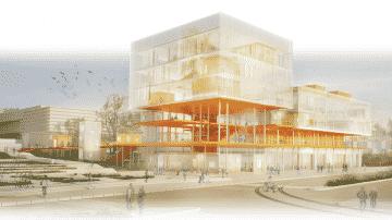 """הוכרזו הפיינליסטים בתחרות לתכנון ביה""""ס לאדריכלות בתל אביב"""