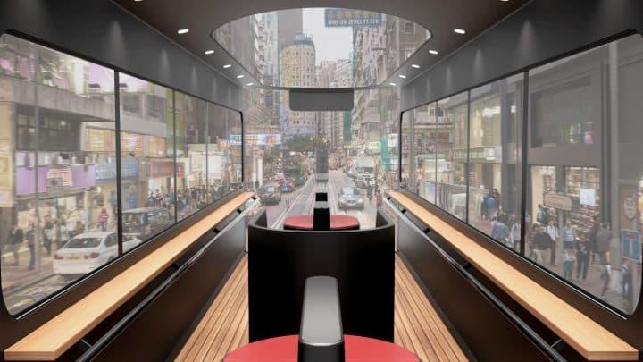 סטודיו בהונג קונג מציע טראם חדשני המותאם לעידן פוסט הקורונה
