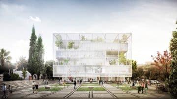 """הוכרזו הזוכים לתכנון ביה""""ס לאדריכלות באוניברסיטת ת""""א"""