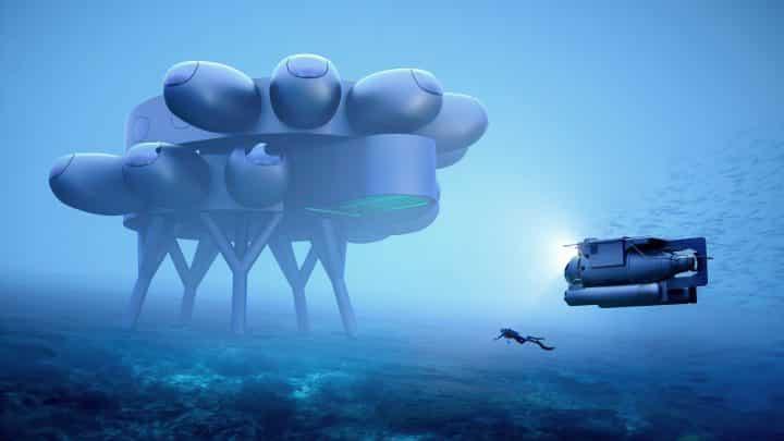 ממעמקים: תחנת המחקר התת ימית שתכנן המעצב הגולש