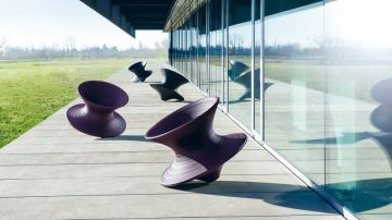 סביבון אמיתי: הכיסא המפורסם של מאגיס מוביל קמפיין תרומה לקהילה