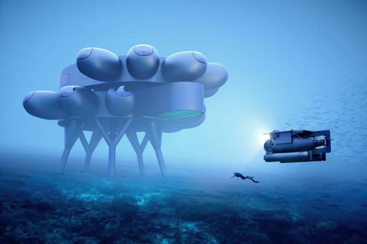 איב בהר, תחנת מחקר תת ימית, עיצוב קונספט