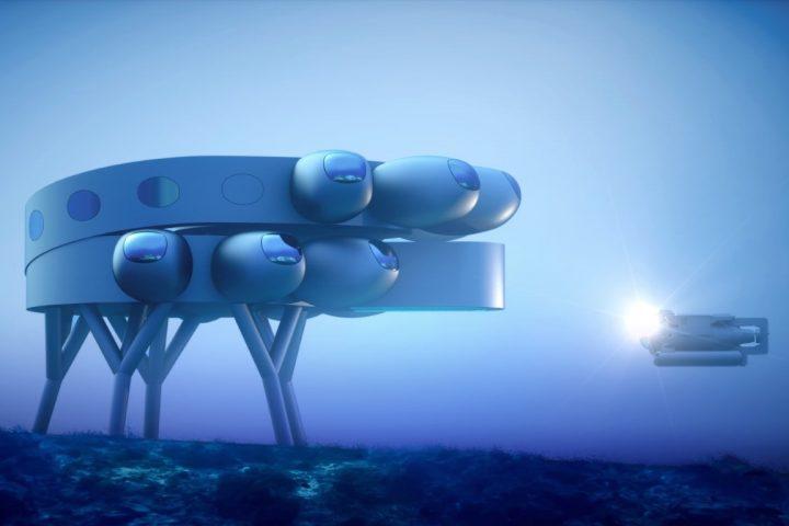 תחנת מחקר תת ימית, עיצוב קונספט
