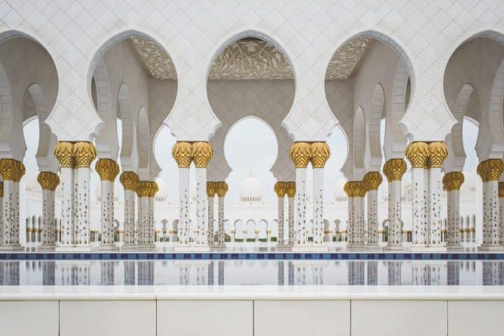 Sheikh Zayed Grand Mosque, אבו דאבי