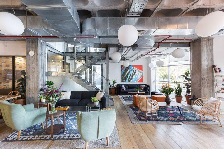 חללי עבודה משותפים ,משרד, עיצוב משרד