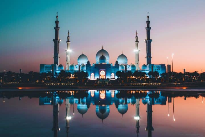 אבו דאבי, מסגד שייח' זאיד