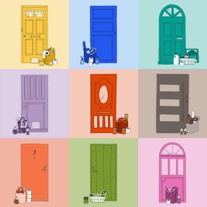 דלתות צבעוניות