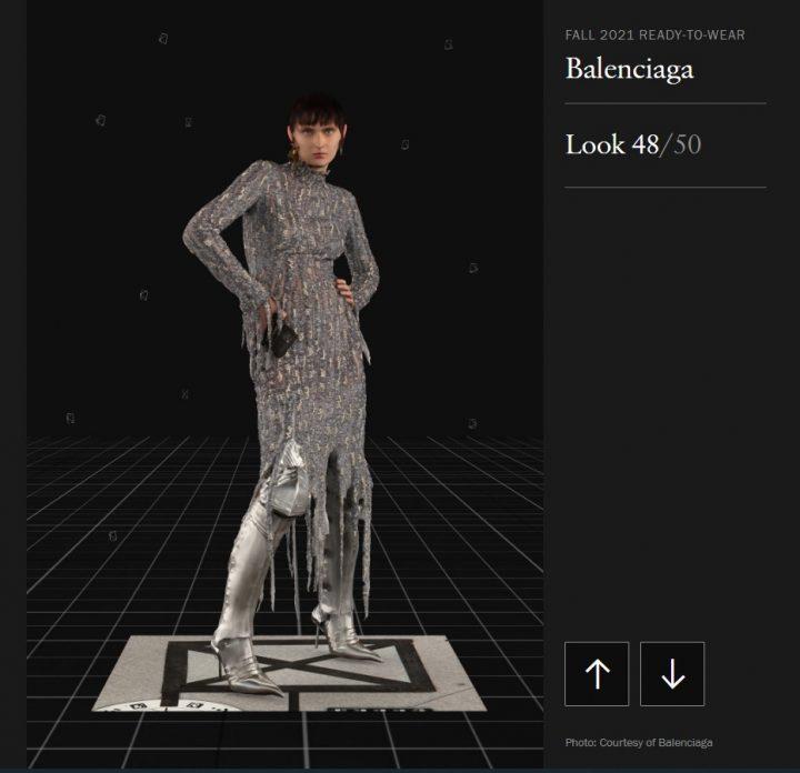 Balenciaga, Vogue, קולקציית סתו 2021