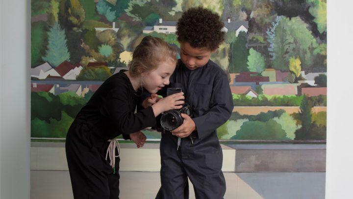 MUMI, שני ילדים, ציור נוף, אוהד מטלון
