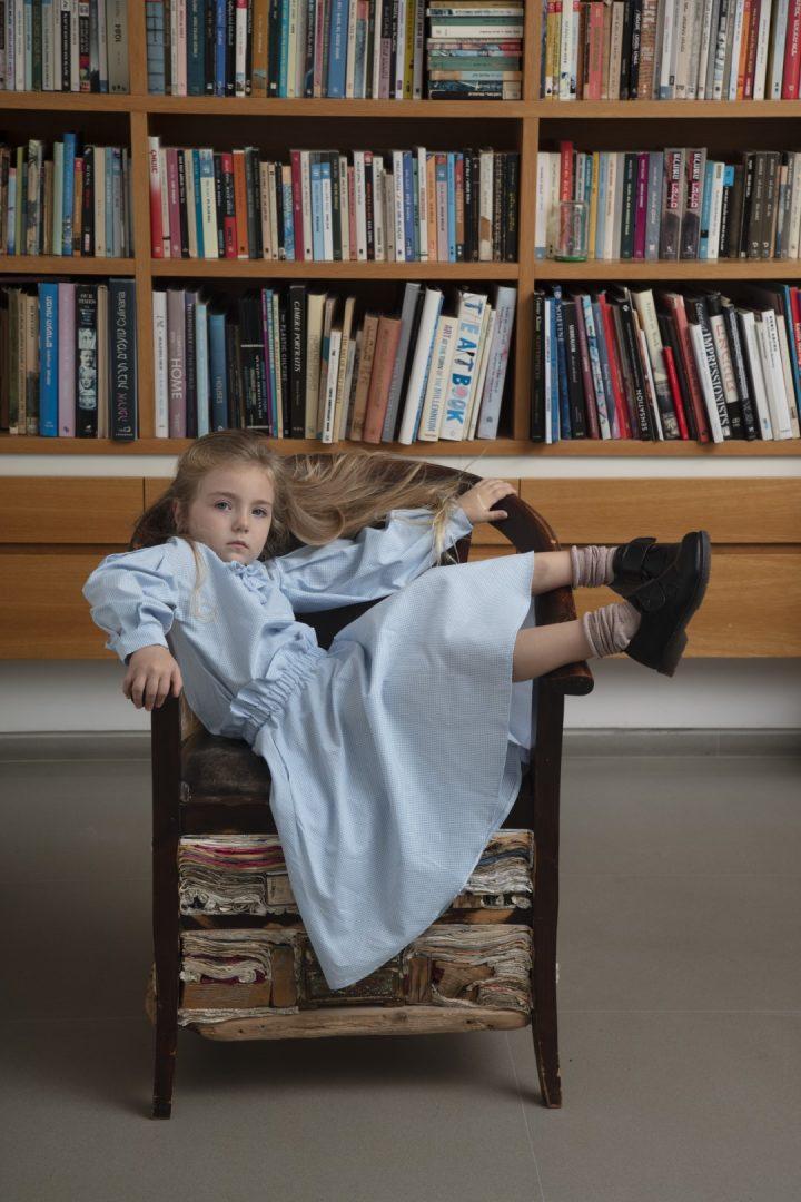 גוני, בגדי ילדים, מריאנה אובמטקין, ילדה בספריה, אוהד מטלון
