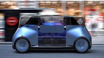 PriestmanGoode, רכב אוטונומי, עיצוב רכב, רכב קונספט