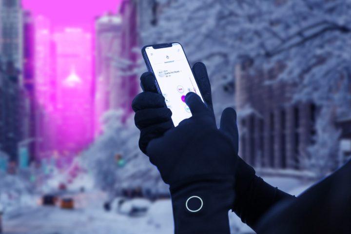 טכנולוגיה לבישה, אפליקציה, כפפות חימום