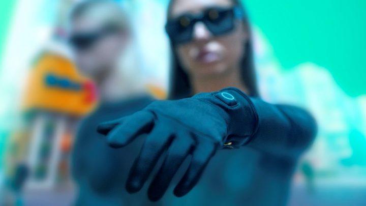 כפפות מחממות, כפפות שחורות, כפפות לאישה