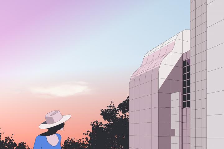 Richard Meier architecture, איורי אדריכלות