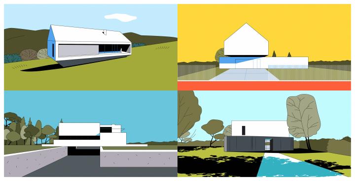 איורי אדריכלות, איור, ציורי אדריכלות