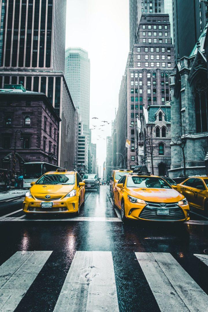 מוניות צהובות, מונית ניו יורק, אייקון תחבורה