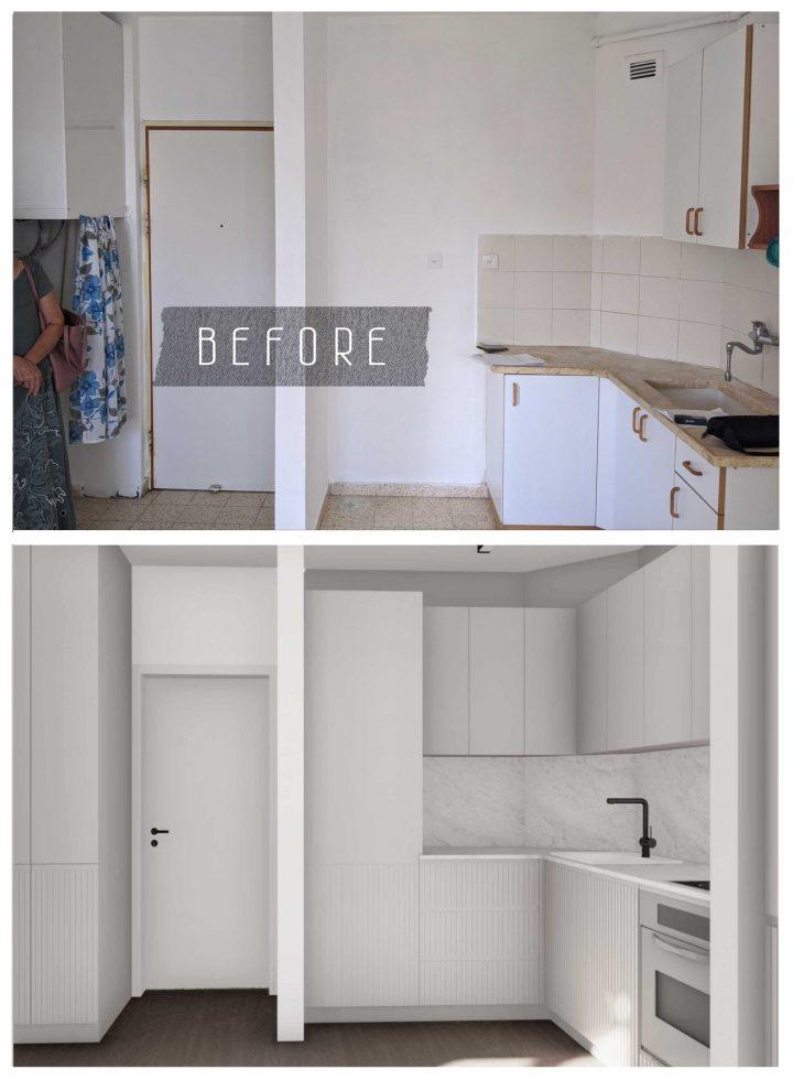 דיור מוגן, עיצוב דיור מוגן, תמונות לפני אחרי