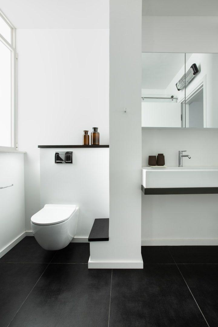 עיצוב חדר אמבטיה, דירת רווקים, דירה בתל אביב