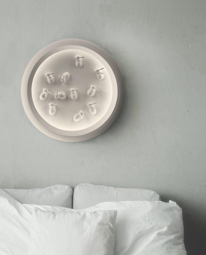 מנורה בחדר שינה, ארנבים, ארנב מקרמיקה