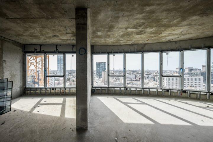 חלונות אתר בנייה