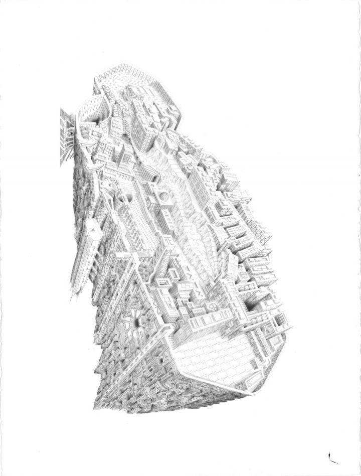 איור ידני, איור אדריכלי