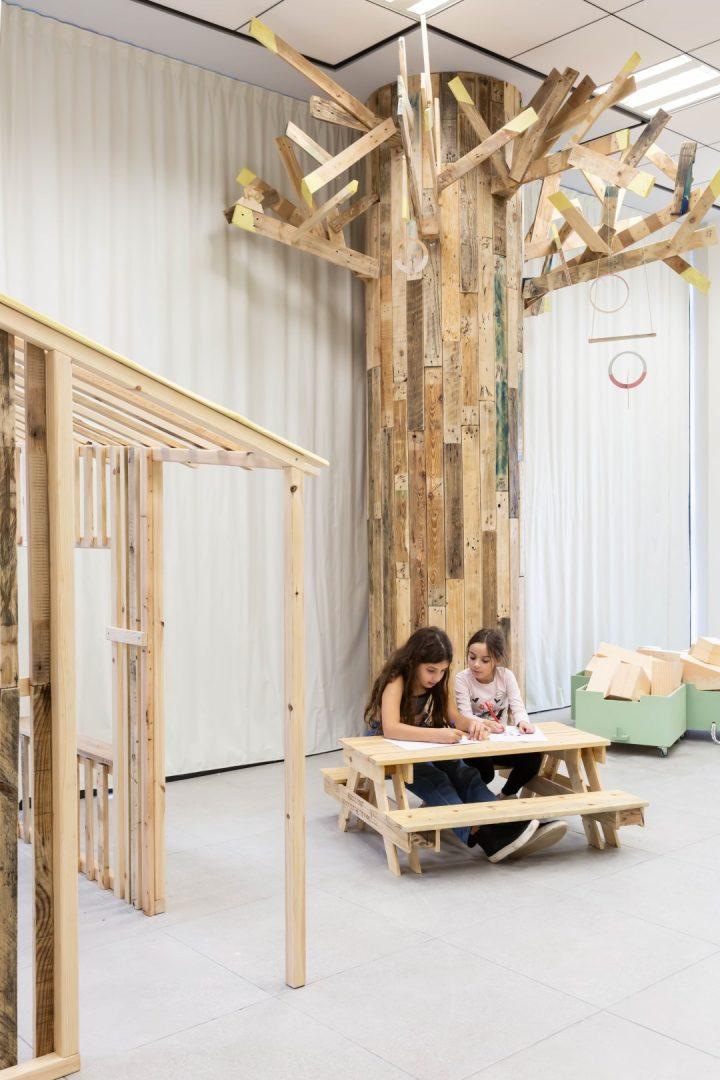 חיפוי עץ, עיצוב בעץ
