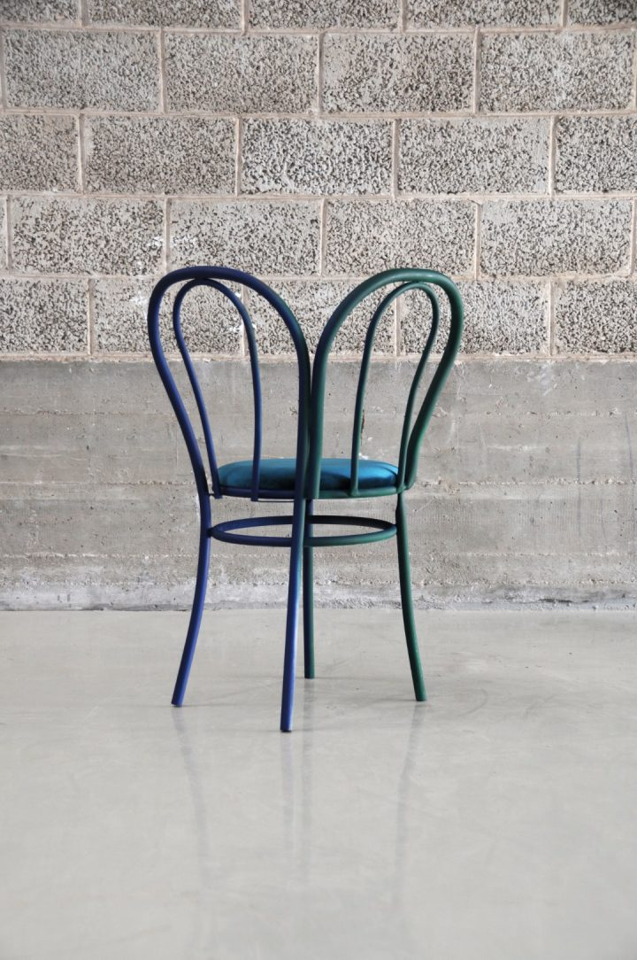 כיסא טונט, כיסא כפול, עיצוב כיסא