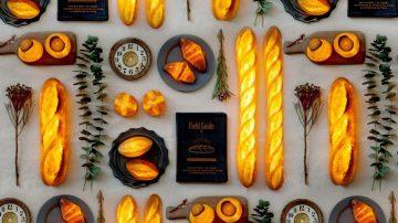 מנורת לחם, מנורת בגט, מנורת קרואסון, מתנה לחג