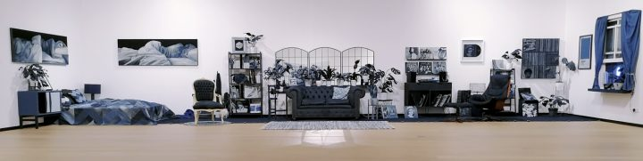 Ian+Berry+denim+art+installation+Rijswijk+museum+Netherlands