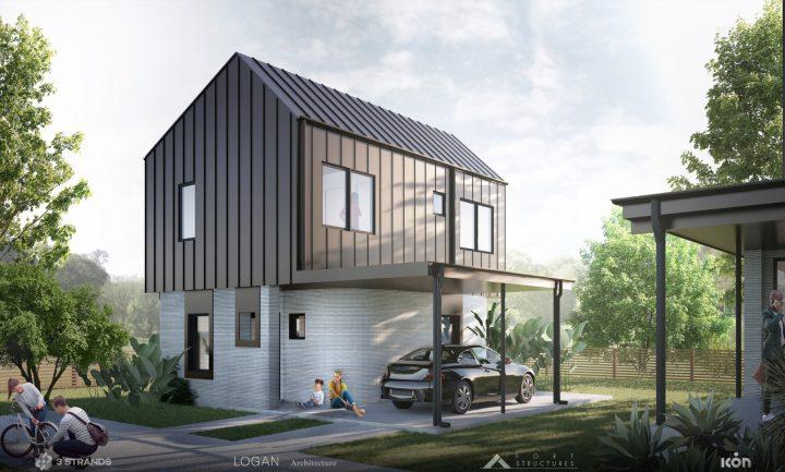 בתי העתיד, בנייה עתידית, הדפסות בתים, ICON 3D PRINTING, הדפסת 3D