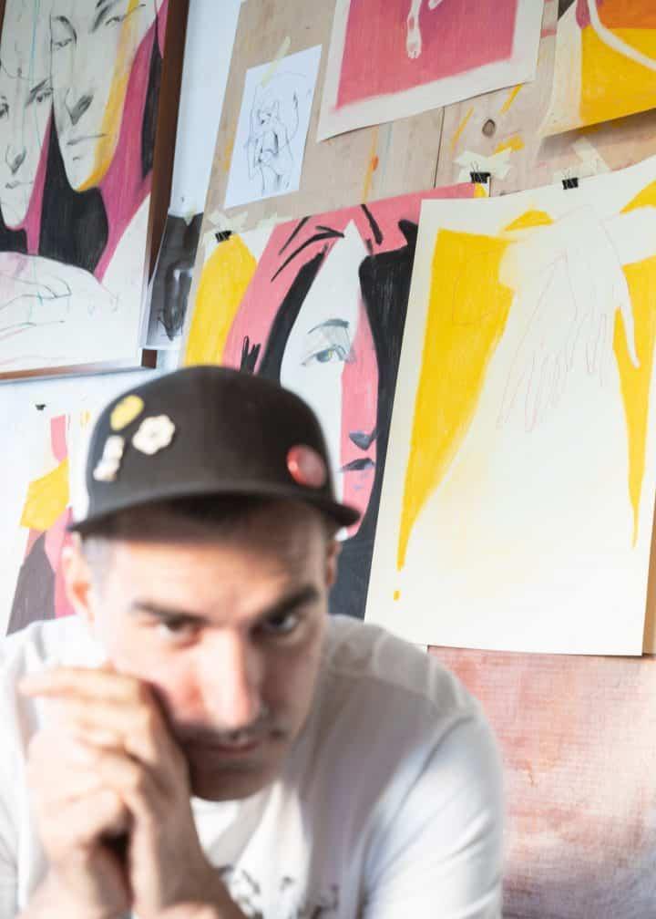 בועז סידס, אמן ישראלי, תערוכת אמנות