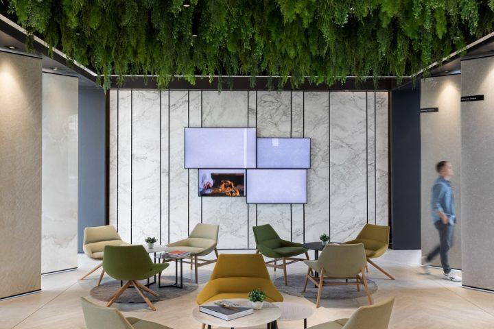 עיצוב אולם תצוגה, קוסנטינו ישראל