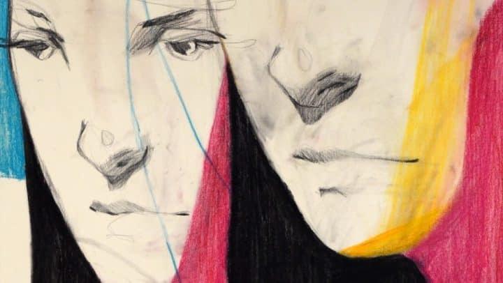 בועז סידס, טרמינל העיצוב בת ים, ציור פנים, ציור של אישה