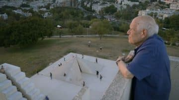 דני קרוון, אמן ישראלי, הכיכר הלבנה