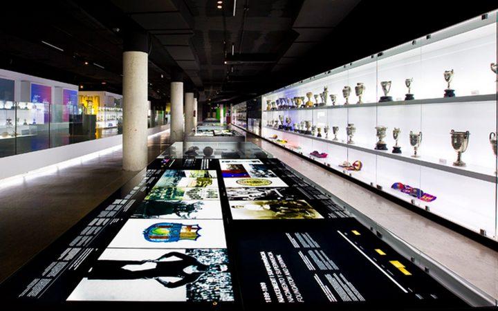 מוזיאון בארסה, עיצוב מוזיאון, עיצוב תערוכות, Barça Museum