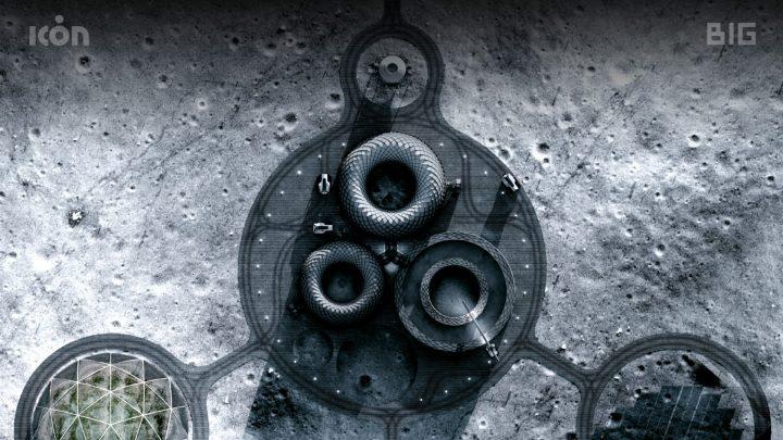 בנייה על הירח, הדפסת תלת ממד, BIG אדריכלים