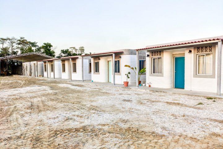 בית מודפס במקסיקו, בנייה חדשנית