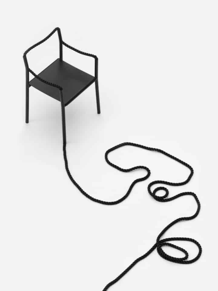 אחים, בורולק, כיסא, חבל, עיצוב