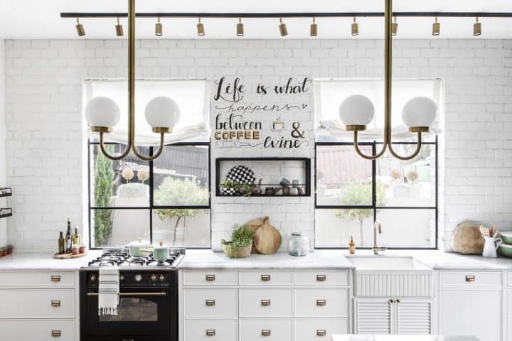 מטבח לבן, עיצוב מטבח